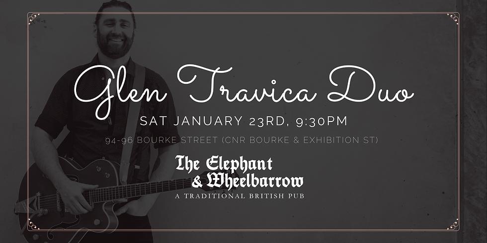 Elephant and Wheelbarrow - Glen Travica Duo