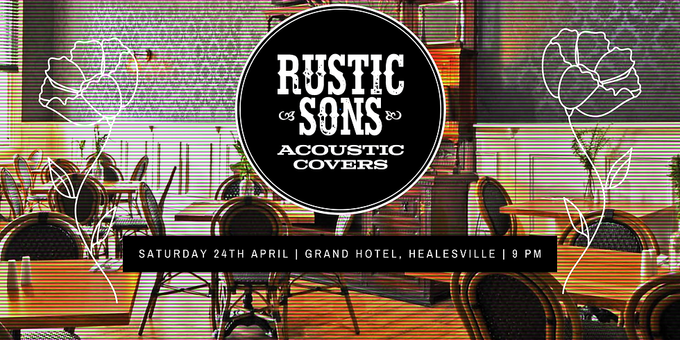 Grand Hotel, Healesville - Rustic Sons