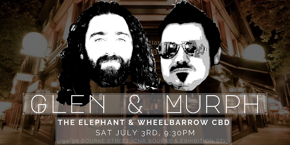The Elephant & Wheelbarrow CBD - Glen & Murph Duo