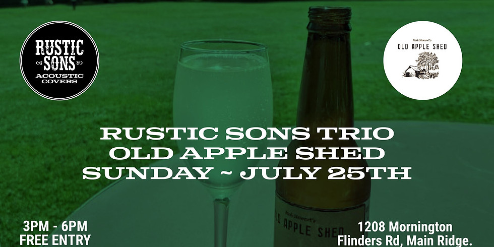 Old Apple Shed - Rustic Sons Trio