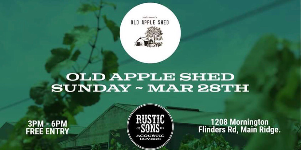 Old Apple Shed - Rustic Sons