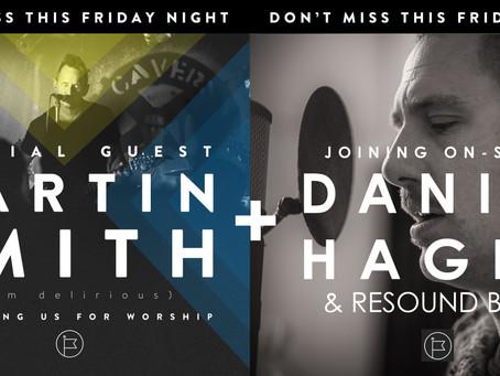 Martin Smith (Delirious) Joins Daniel Hagen & Resound Band @ Awakening