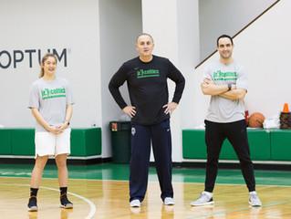 On the Road: Jr. Boston Celtics NBA Clinic