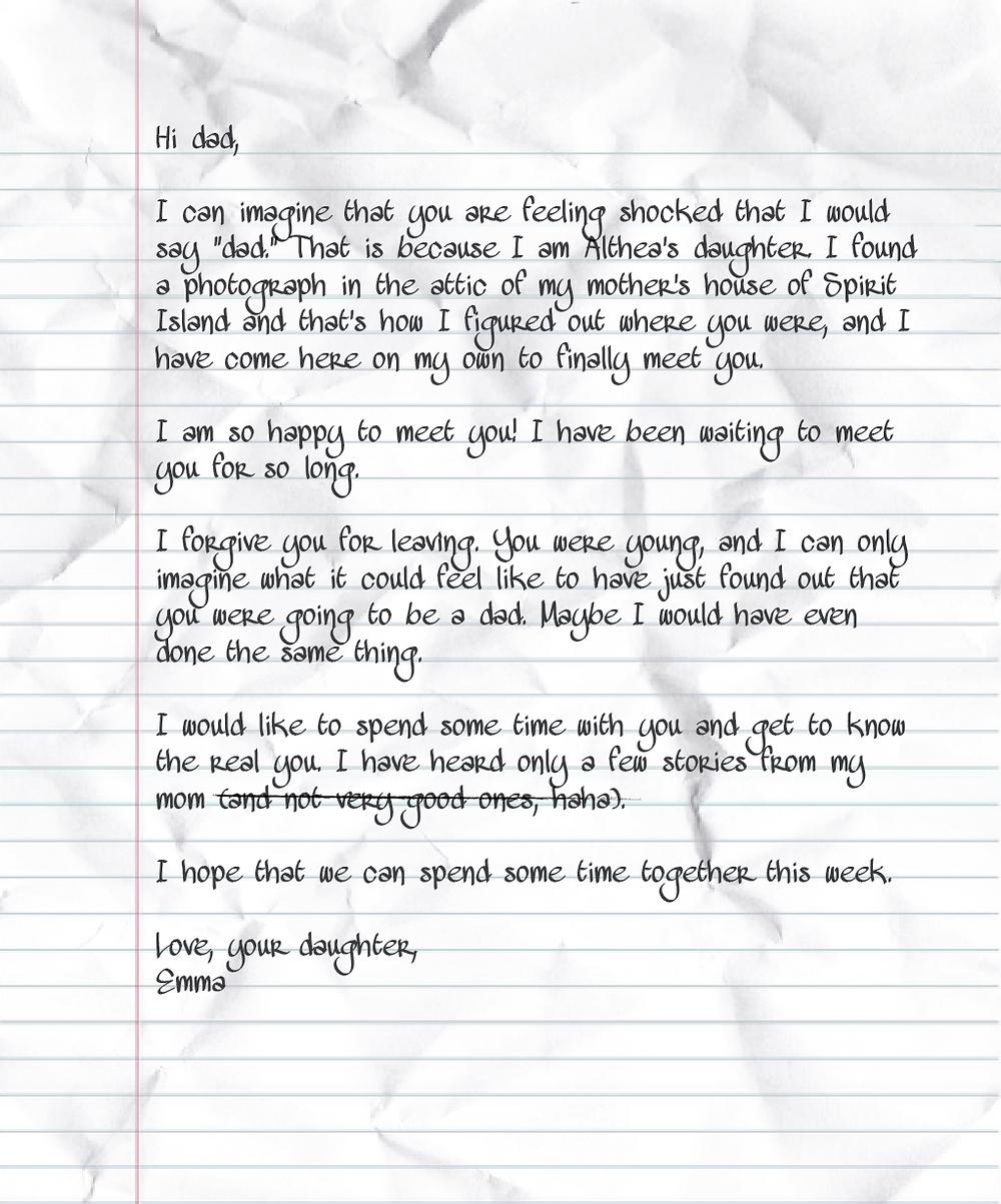 Spirit Island letter artifact
