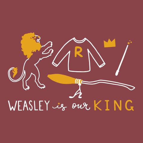 Weasley is our King Tee