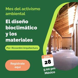 WEBINAR GRATUITO | El diseño bioclimático y los materiales