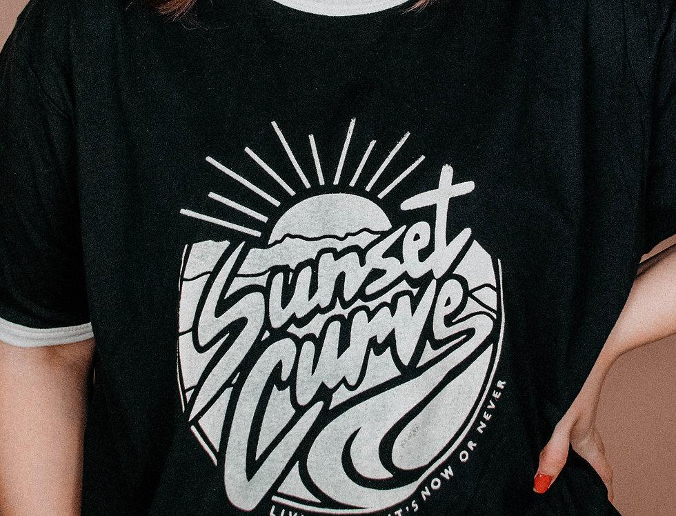 SUNSET CURVE TEE
