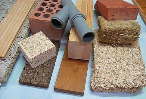 materiales ecológicos en la contrucción