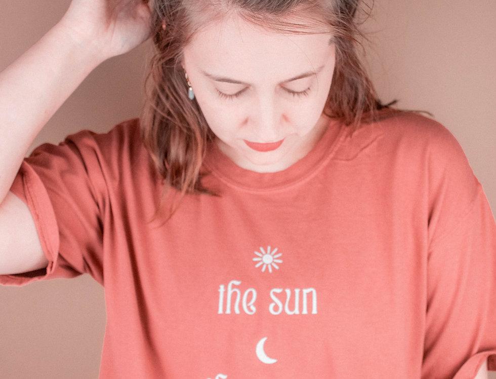 SUN, MOON, TRUTH TEE