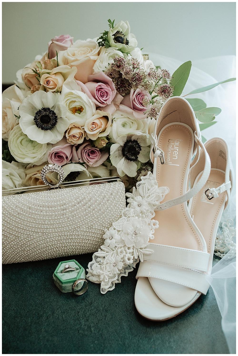 Bridal Details, Rings, Shoes, Garter