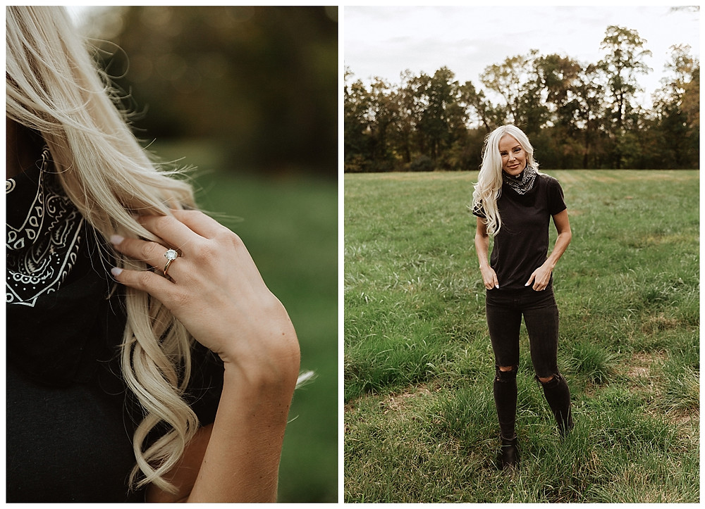 Back Roads Outdoor Engagement Session
