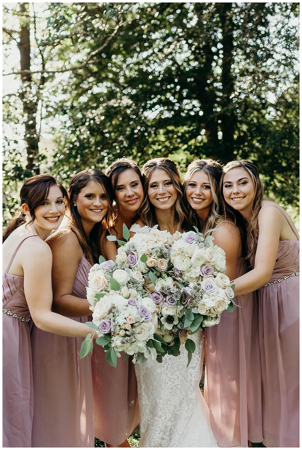 Bride & Bridesamaids
