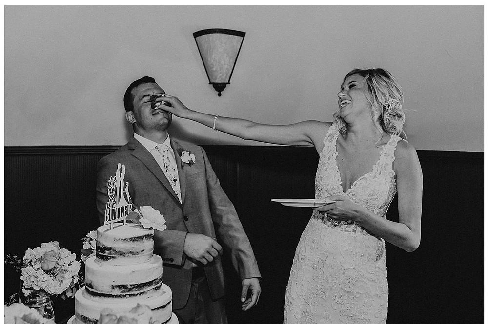 Wedding Cake Smashing