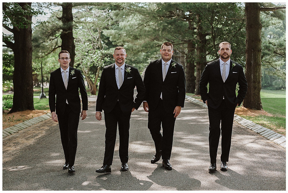 Groom and Groomsman Portraits