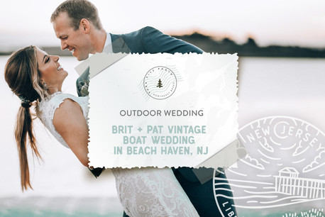 Vintage Boat Wedding at Little Egg Harbor Yacht Club in Beach Haven, NJ