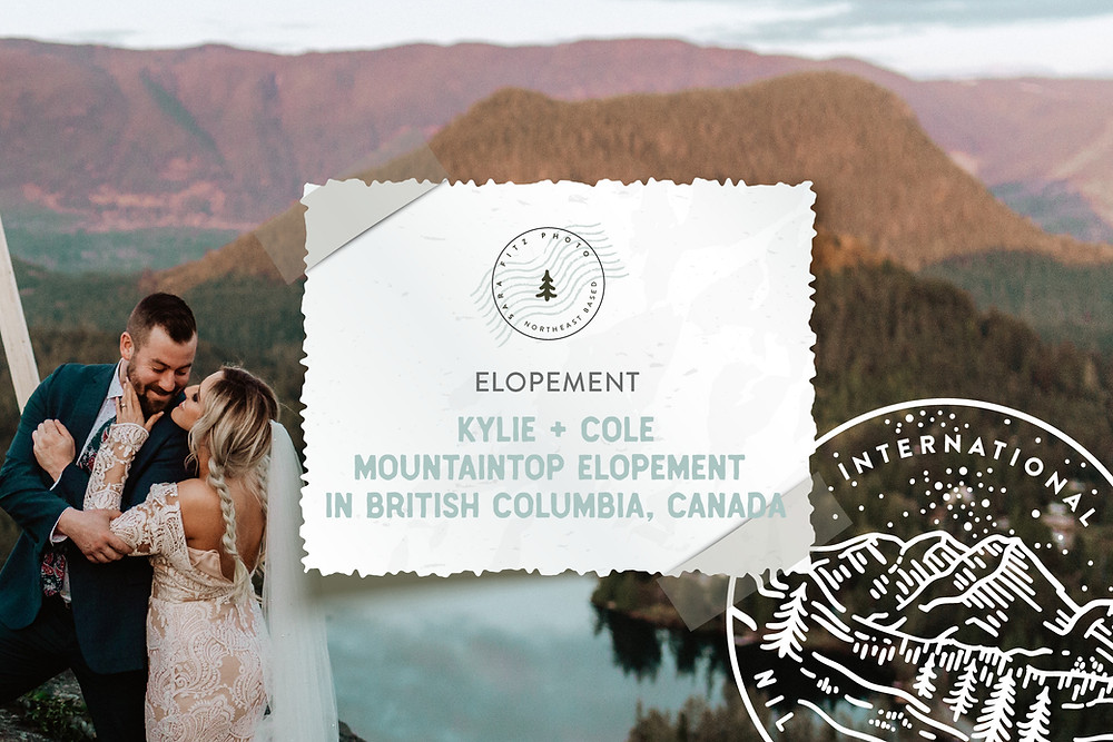 Sunshine Coast Mountaintop Elopement in Halfmoon Bay, BC