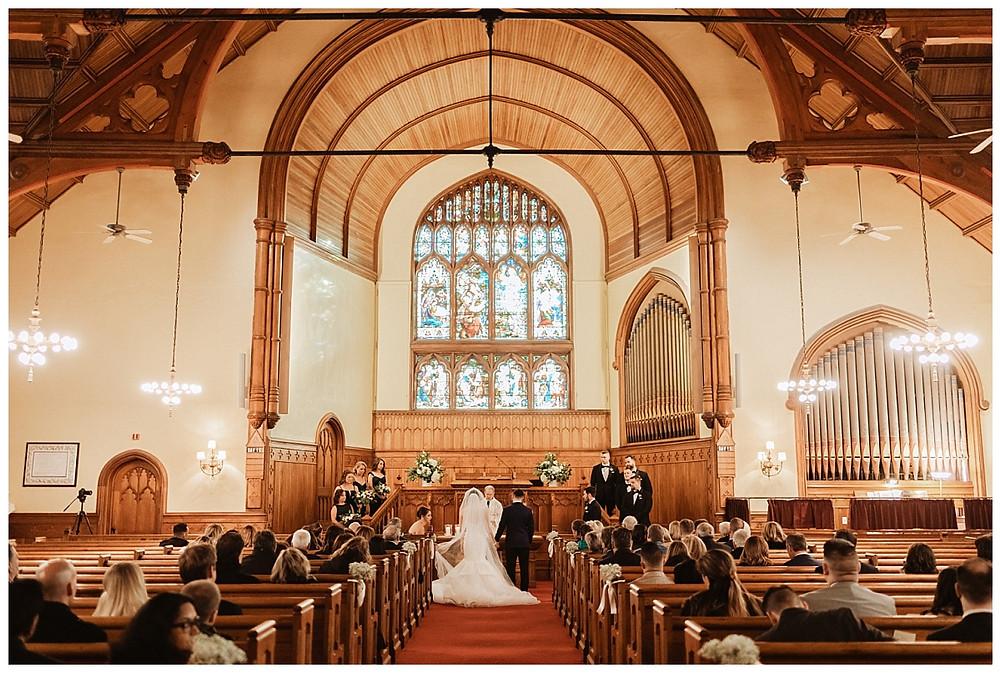 Wedding Ceremony at Elberon Memorial Church