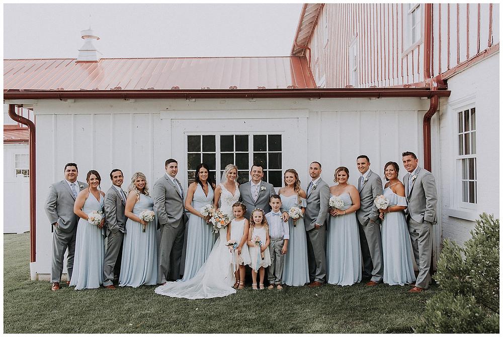 Full Wedding Party Portraits