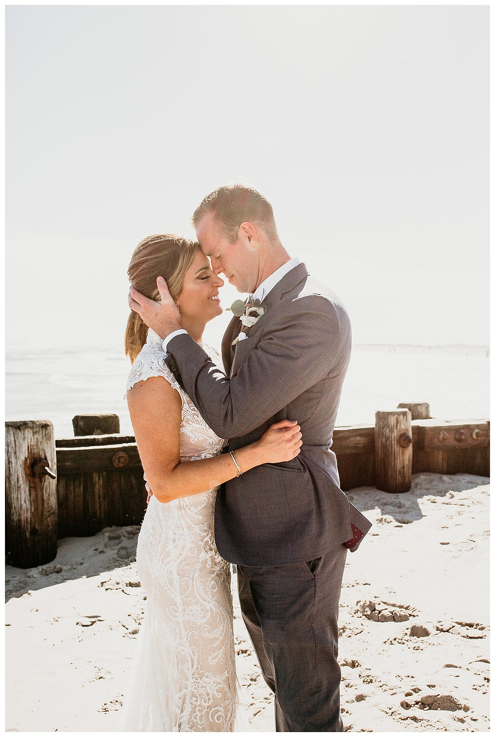 Beach Haven Bride and Groom Portraits