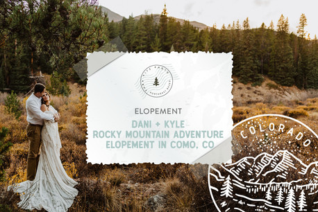 Autumn Rocky Mountain Adventure Elopement in Como, Colorado