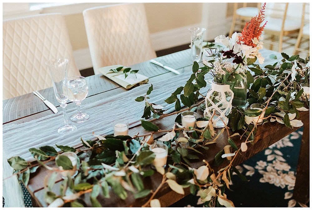 Rustic Coastal Sweetheart Table
