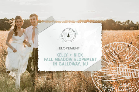 Boho Fall Meadow and Tree Farm Styled Elopement in Galloway, NJ