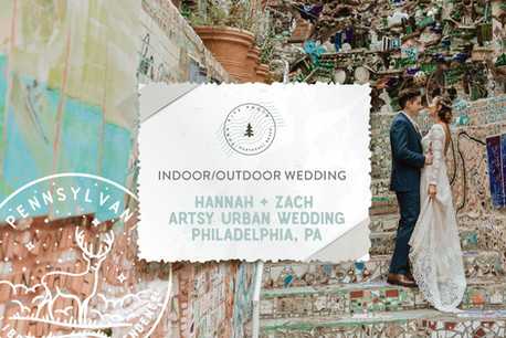 Artsy Urban Museum Wedding at the Fleisher Art Memorial, Philadelphia PA