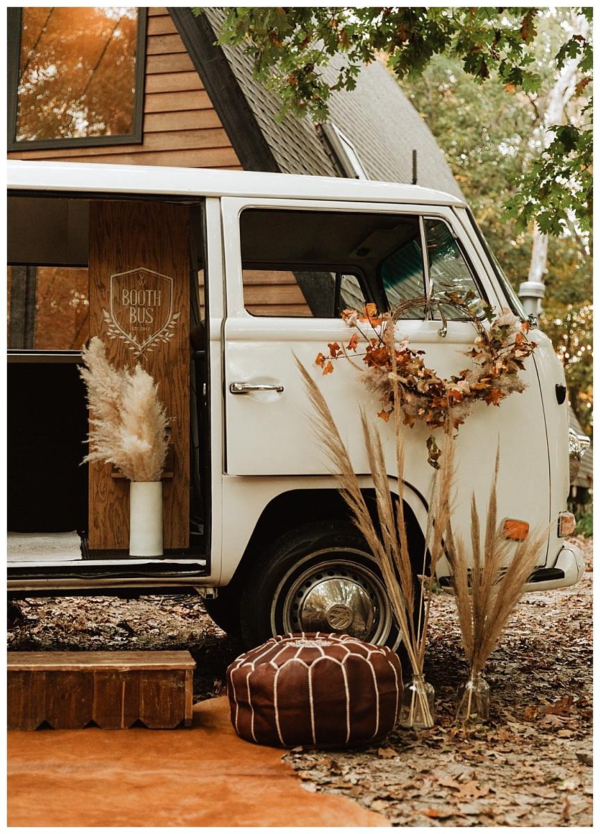 Boho VW Booth Bus