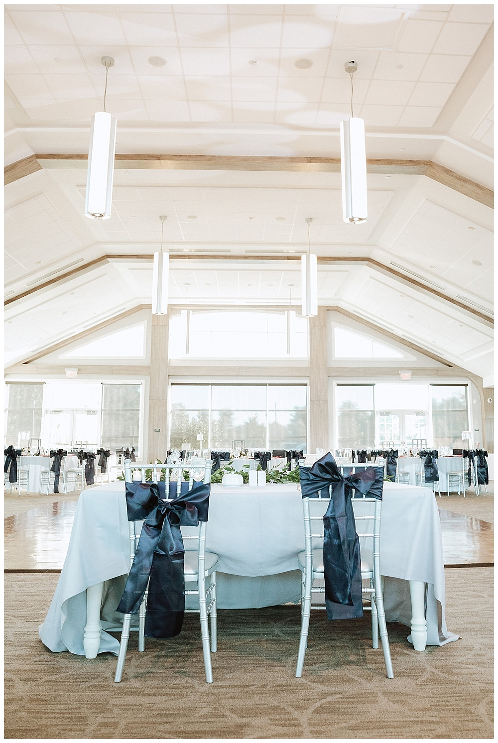 Reception Space at the Boathouse at Mercer Lake