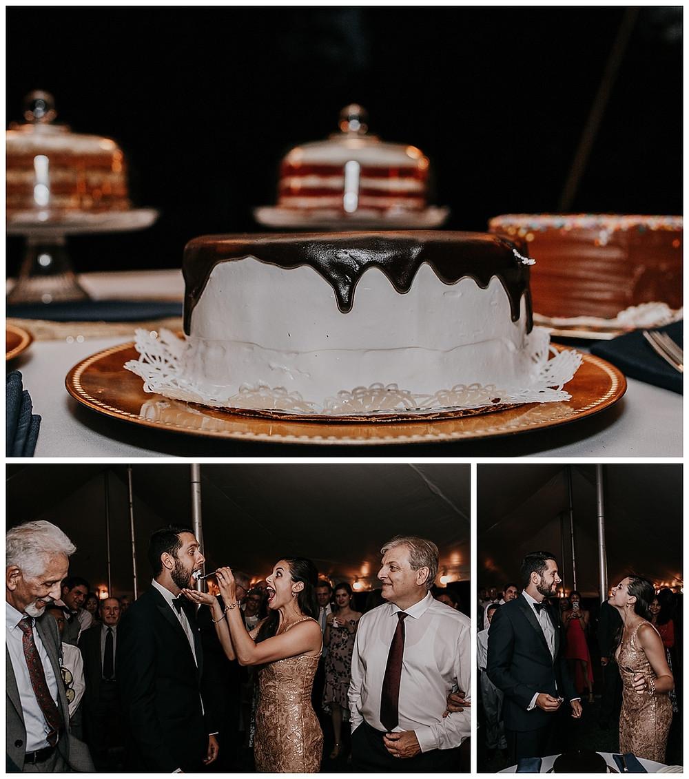 Dessert Bar at Wedding