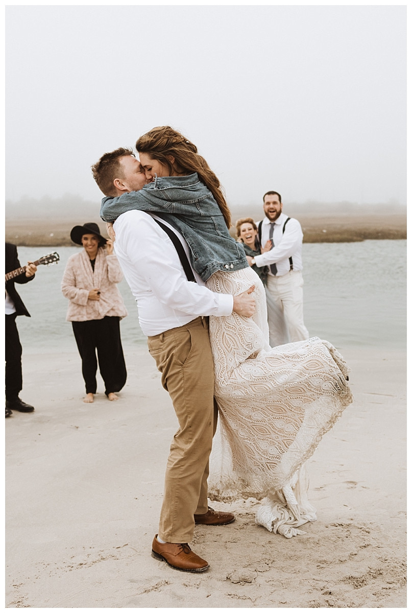 First Dance on the Beach