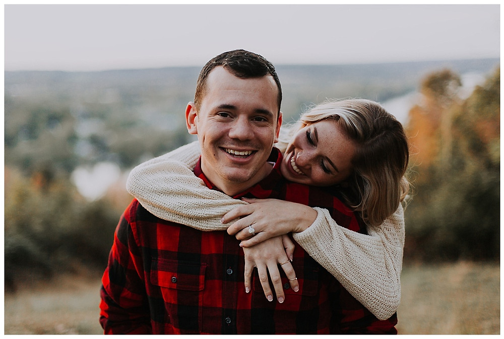 Autumn Mountain Engagement Session