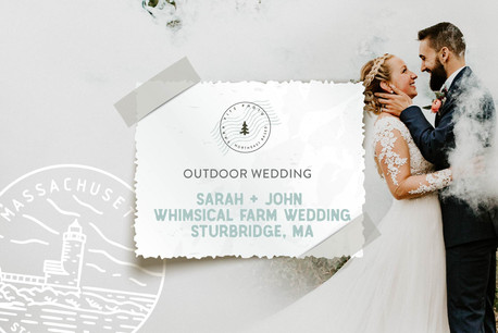 Whimsical Farm Wedding at the Publick House, Sturbridge MA