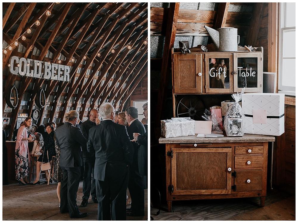 Barn Wedding Reception Rustic Decor