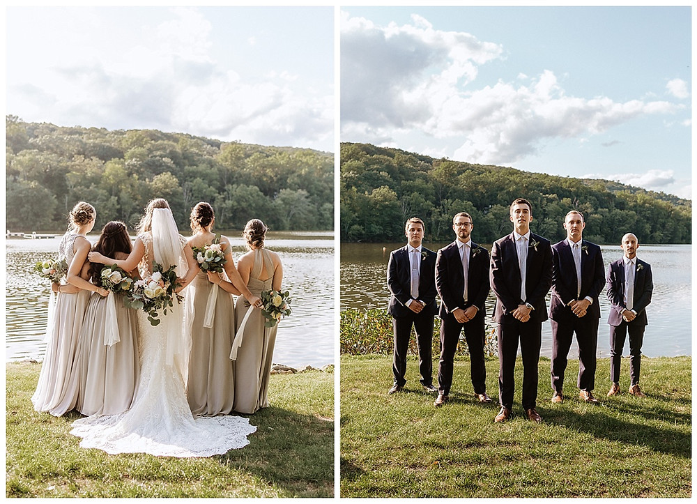 Bridal Party and Groomsman Portraits