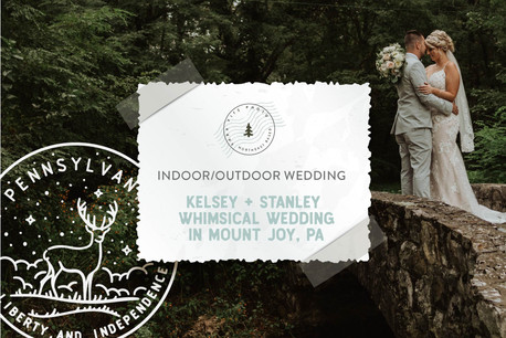 Whimsical Fall Wedding at The Cameron Estate in Mount Joy, PA