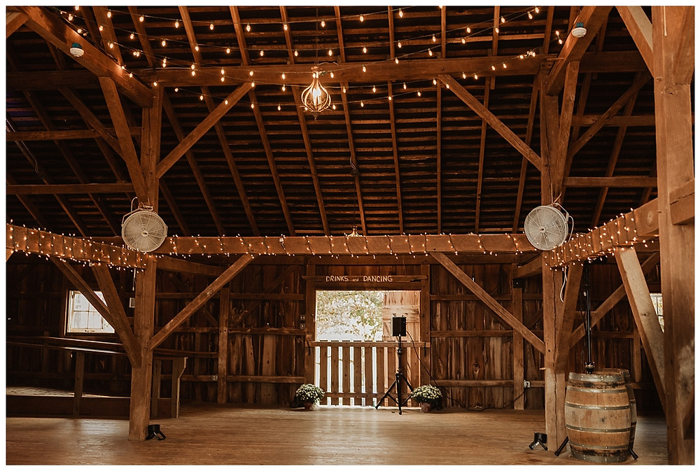 Barn Wedding Reception at Bayonet Farms, NJ