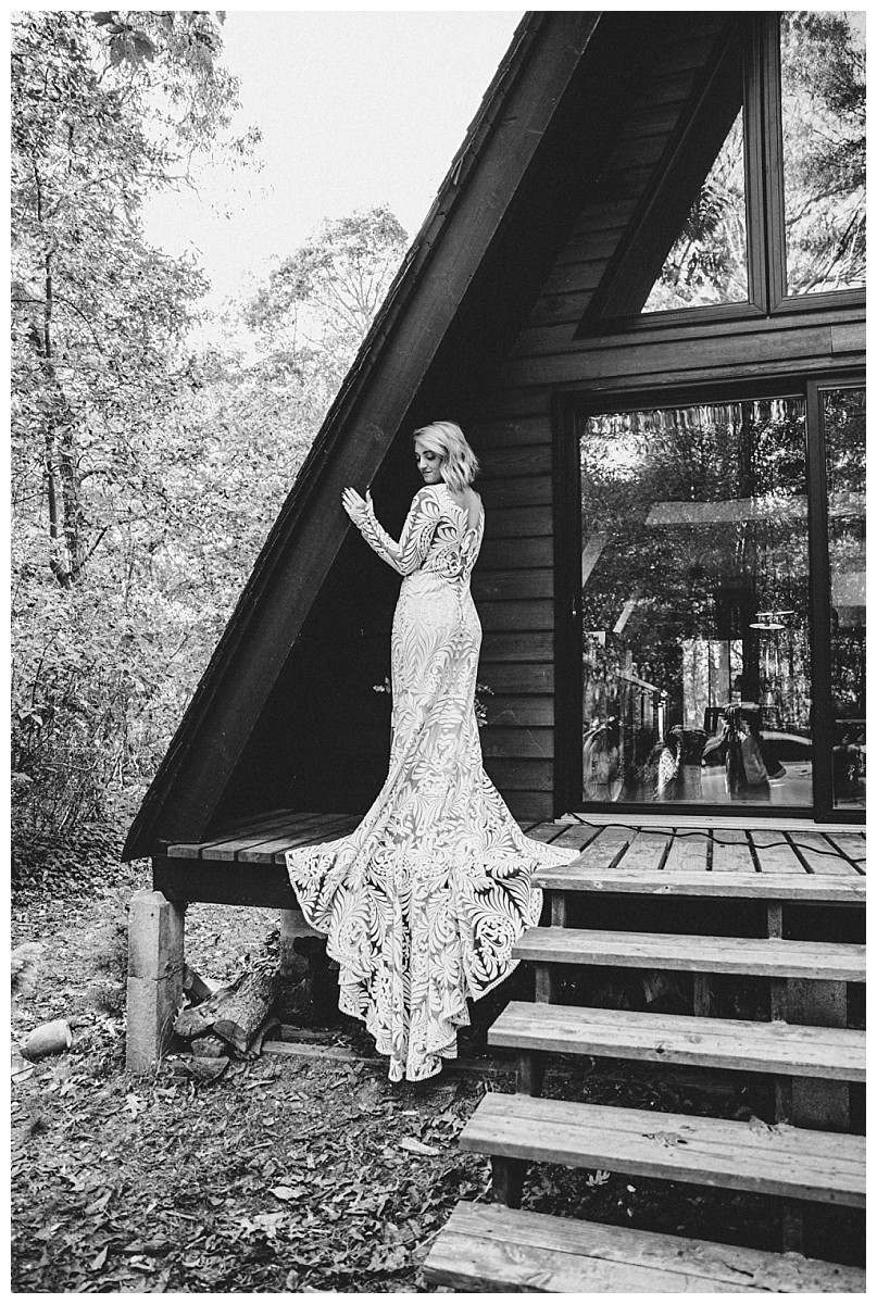 Boho Bridal Portraits, Rue De Seine Wedding Dress