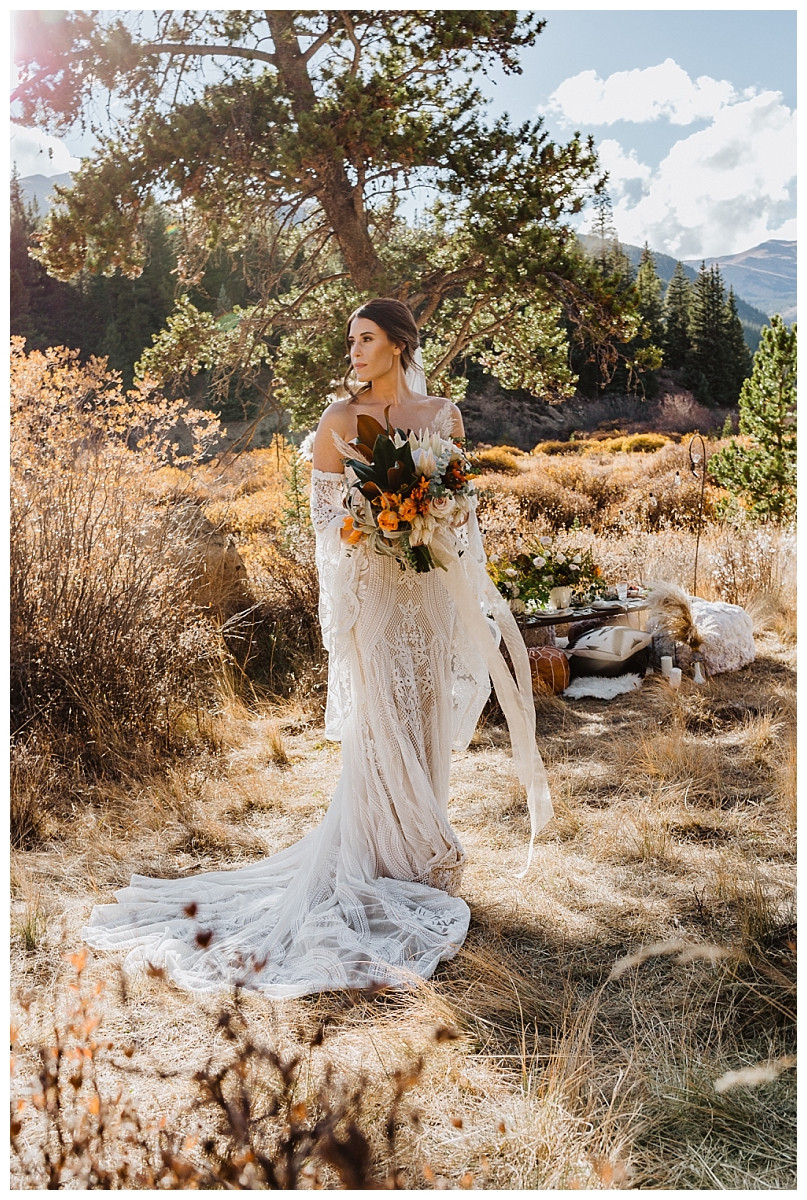 Boho Bridal Portraits