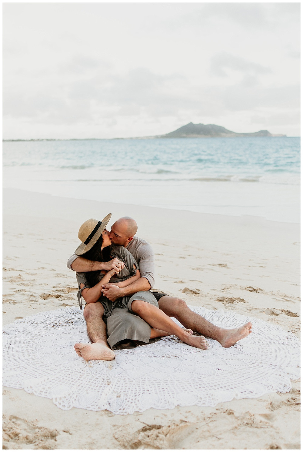 Beach Engagement Session in Hawaii