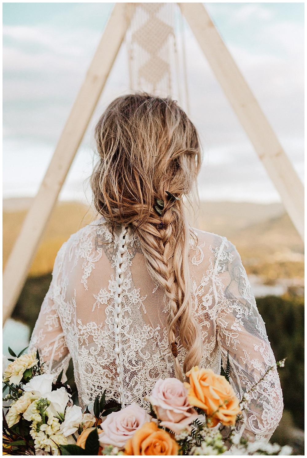 Boho Wedding Hairstyle Braids