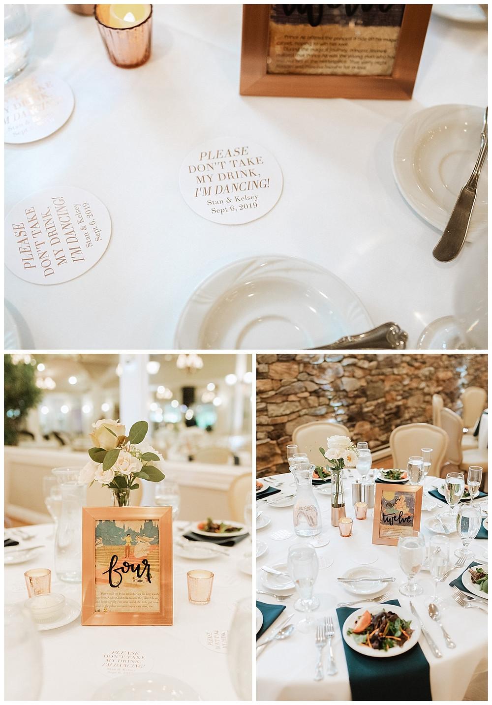 Disney Inspired Wedding Table Centerpieces