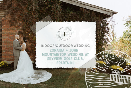 Autumn Mountain Wedding at SkyView Golf Club in Sparta, NJ