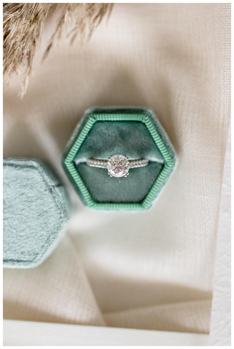 Ocean Inspired Wedding Ring Detail Shots