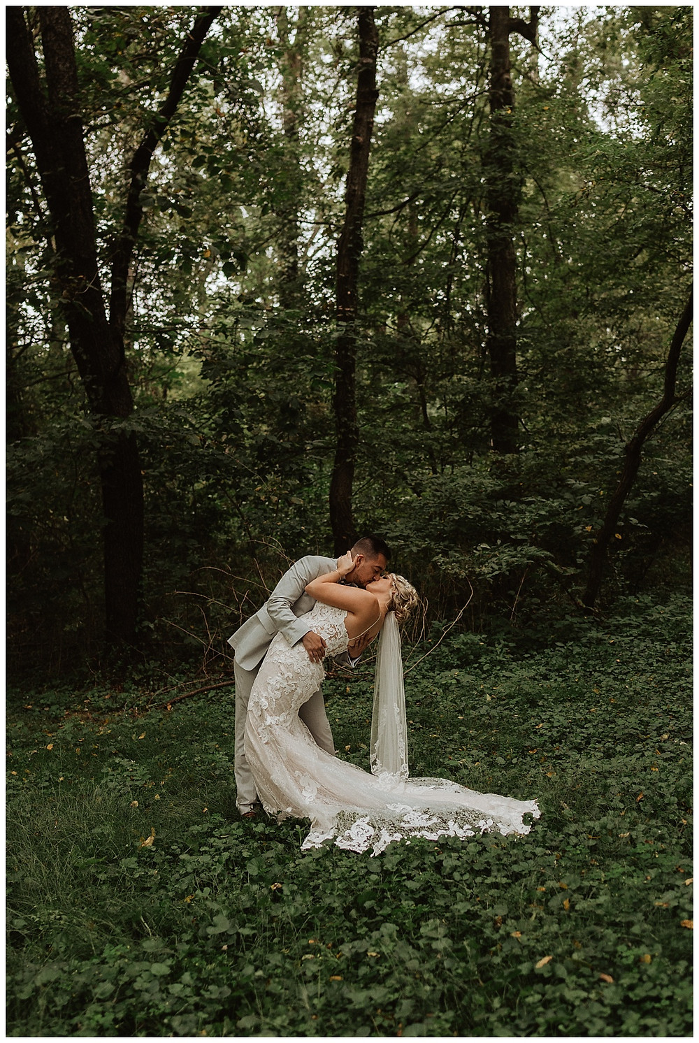 Wooded Bride & Groom Portraits