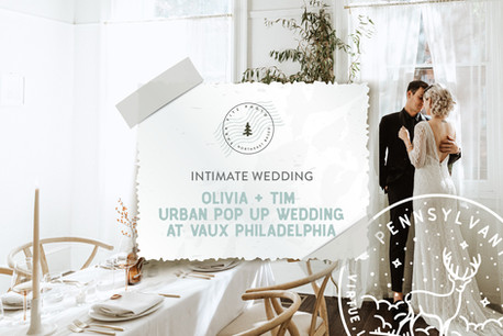 Urban Pop Up Wedding at Vaux Studios in Philadelphia, Pennsylvania