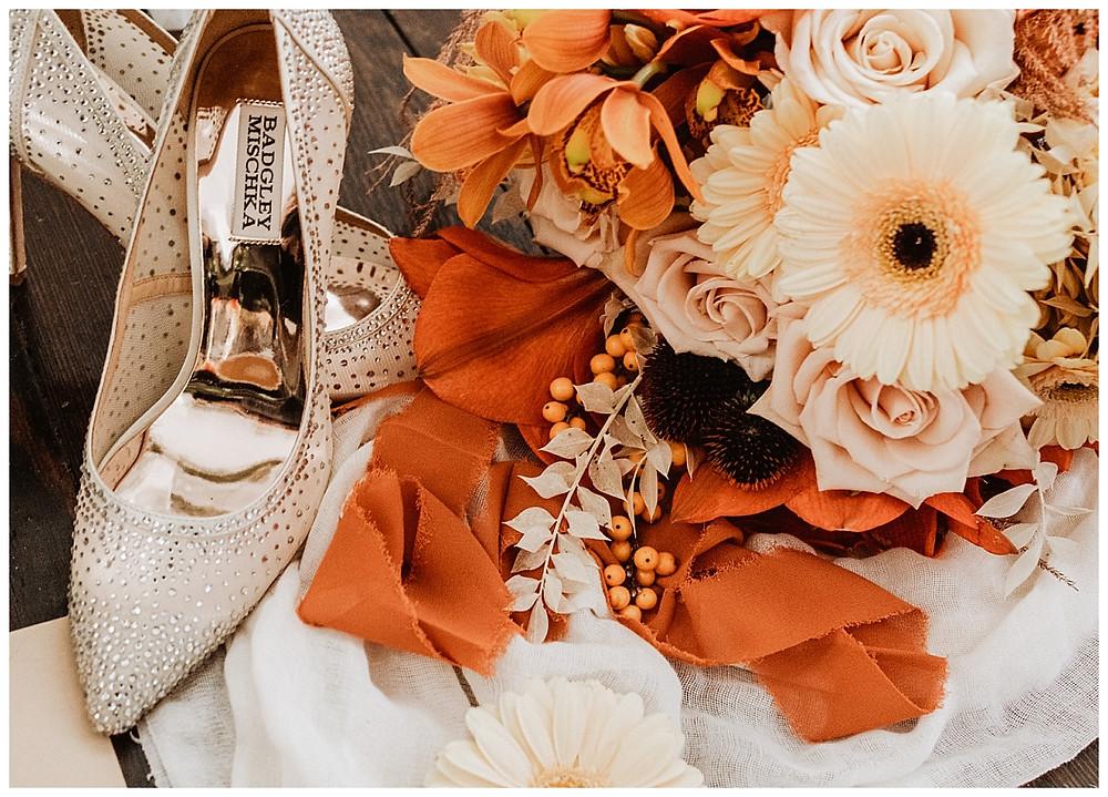Orange Bridal Details