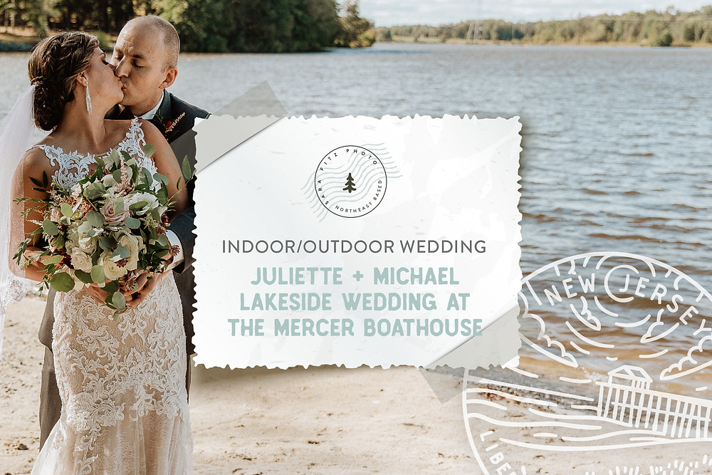 Autumn Lakeside Wedding at the Boathouse at Mercer Lake, Hamilton NJ