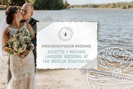 Autumn Lakeside Wedding at the Boathouse at Mercer Lake in Hamilton, NJ