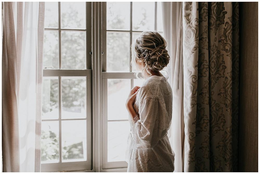 Getting Ready Bridal Portraits